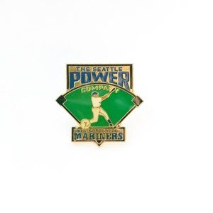 '92 Kevin Mitchell Mariners Pin